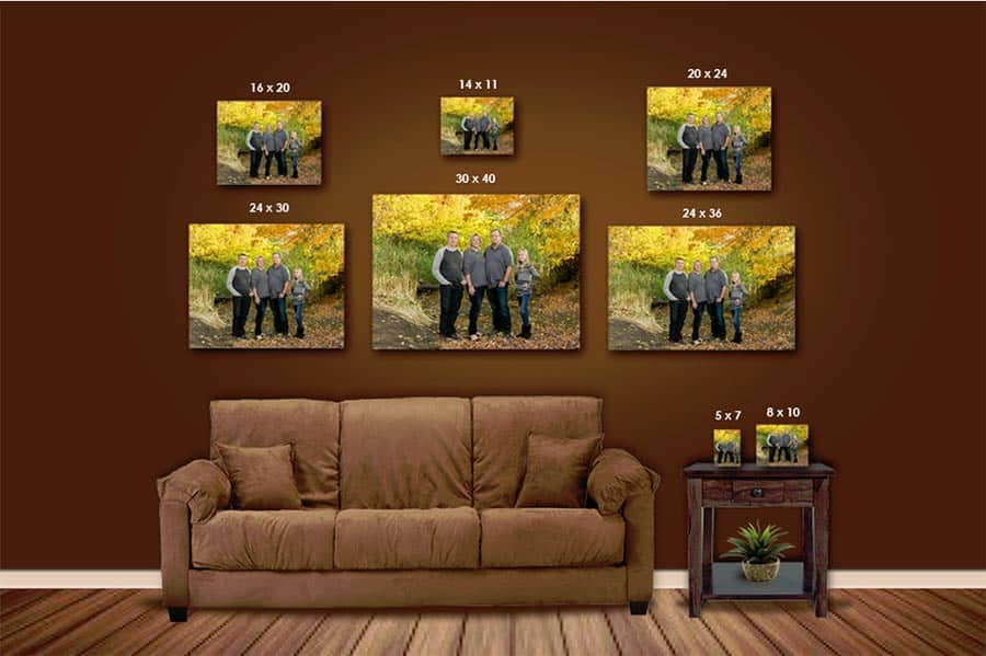 Portrait Wall Investment Display