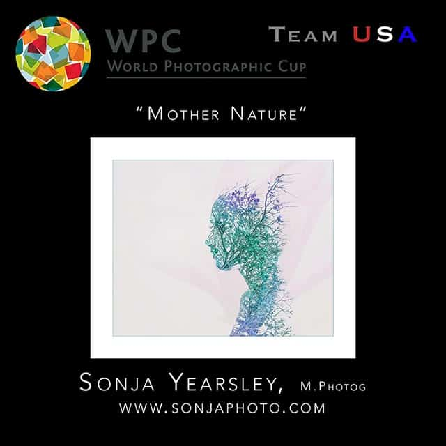 Sonja was 1 of 18 photographers to represent Team USA at the World Photographic Cup